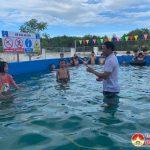 Trường THCS xã Nam Sơn khánh thành và đưa vào sử dụng bể bơi
