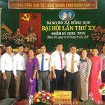 Đảng bộ xã Hồng Sơn tổ chức Đại hội khóa XX nhiệm kì – 2020 – 2025