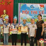 """Xã Lưu Sơn tổ chức hội thi vẽ tranh """"An toàn cho phụ nữ và trẻ em"""""""