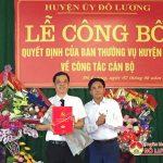 Xã Thịnh Sơn có Phó bí thư đảng ủy mới