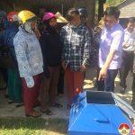 Hội phụ nữ Nam Sơn truyền thông thu gom, phân loại, xử lí rác thải  tại hộ gia đình