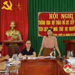 Ban quản lý di tích Nghệ An và UBND huyện tổ chức hội nghị thông qua dự thảo hồ sơ xây dựng di tích lịch sử nhà thờ đại tôn họ Nguyễn Trọng xã Minh Sơn.