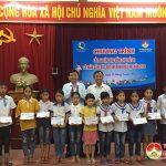 Quỹ bảo trợ Nghệ An: Trao 25 suất học bổng cho học sinh nghèo hiếu học ở Đô Lương
