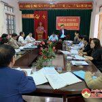 Hội nghị thẩm định làng nghề nồi đất xã Trù Sơn.