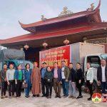 Chùa phúc Mỹ ủng hộ nhân dân Hà Tĩnh bị lũ lụt 90 triệu đồng.