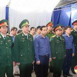 Đô Lương trang trọng tổ chức lễ an táng liệt sỹ Nguyễn Quang Sơn tại xã Thái Sơn.