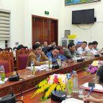 Thường trực HDND huyện thông báo kết luận giám sát việc giải quyết các vấn đề cử tri quan tâm sau kỳ họp.
