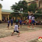 Xã Bồi Sơn tổ chức giải thể thao chào mừng 90 năm ngày truyền thống các  ban của Đảng