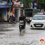 Đô Lương xảy ra mưa lớn gây ngập úng cục bộ nhiều nơi.
