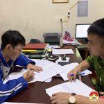 Công an xã Lưu Sơn Bắt quả tang 1 đối tượng tàng trữ trái phép chất ma túy