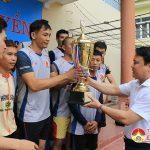 Đội tuyển xã Đặng Sơn giành chức vô địch giải bóng chuyền nông dân mở rộng năm 2020