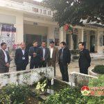 Hội đồng thẩm định nông thôn mới tỉnh thẩm định kết quả xây dựng nông thôn mới xã Minh Sơn.