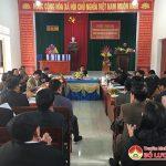 Hội đồng thẩm định nông thôn mới tỉnh thẩm định kết quả xây dựng nông thôn mới xã Bài Sơn.