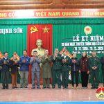 Xã Thịnh Sơn kỷ niệm 30 năm ngày truyền thống hội cựu chiến binh xã
