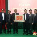 Đô Lương tọa đàm gặp mặt chúc mừng lễ giáng sinh các vị chức sắc, tôn giáo năm 2020