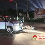 Đô Lương xảy ra 2 vụ tai nạn giao thông trong đêm, 3 người nhập viện, 2 người nguy kịch