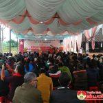 Xã Lam Sơn tổ chức lễ khánh thành nhà mẫu đường Chùa Bà Bụt