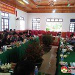 Ban chỉ đạo xây dựng nông thôn mới tỉnh Nghệ An thẩm định kết quả xây dựng nông thôn mới tại xã Nhân Sơn