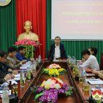 UBND huyện tổ chức hội nghị thường kỳ tháng 12 và triển khai nhiệm vụ tháng 1 năm 2021.
