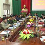 UBND tỉnh Nghệ An giao ban trực tuyến với các đơn vị trực thuộc.