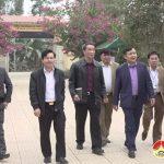 Hội đồng thẩm định nông thôn mới tỉnh thẩm định kết quả xây dựng nông thôn mới xã Giang Sơn Đông.