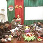 Đại học nông lâm, Đại học Huế làm việc với huyện Đô Lương