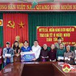 Ngân hàng CPTM Đầu tư và phát triển Nghệ An: Trao gần 400 suất quà tết cho người nghèo tại Đô Lương