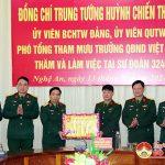 Bộ Quốc phòng thăm chúc tết tại Sư đoàn 324