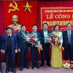 UBMTTQ Việt Nam tỉnh Nghệ An: Công bố Quyết Định chức vụ Chủ tịch UBMTTQ huyện Đô Lương