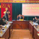 Huyện ủy Đô Lương tổ chức hội nghị Ban thường vụ kiểm điểm năm 2020