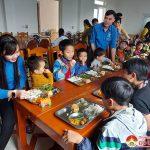 Huyện Đòan Đô Lương tổ chức bữa cơm yêu thương cho các cháu tại trung tâm công tác xã hội Nghệ An