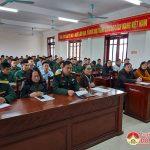 Đô Lương Tổ chức lễ đón nhận 200 quân nhân hoàn thành nghĩa vụ quân sự trở về địa phương.