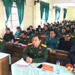 Đô Lương tập huấn cán bộ nghiệp vụ Quân sự – Quốc phòng năm 2021