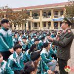 Học sinh trường THPT Đô Lương 4 Được tuyên truyền phòng, chống pháo nổ, tác hại của ma túy