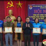 Tổng kết công tác Đoàn- Hội và phong trào Thanh thiếu nhi năm 2020