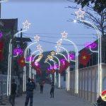 Không khí chào mừng Đại hội Đảng và đón tết ở Thị Trấn, Đô Lương