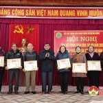 Hội cựu TNXP huyện tổng kết phong trào hoạt động năm 2020.