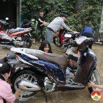"""1700 học sinh trường THPT Đô Lương 1 tham gia hoạt động gây quỹ """"Xuân Yêu Thương""""."""