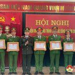 Công an huyện Đô Lương tổ chức hội nghị tổng kết công tác năm 2020 và triển khai nhiệm vụ năm 2021