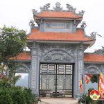 Lãnh đạo UBND huyện làm việc với lãnh đạo xã Lam Sơn về tổ chức hoạt động tại chùa Bà Bụt.
