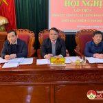 Ban chấp hành Đảng bộ huyện tổng kết công tác xây dựng Đảng năm 2020, triển khai nhiệm vụ năm 2021.