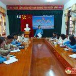 Huyện đoàn sinh hoạt Câu lạc bộ lý luận trẻ Quý I năm 2021