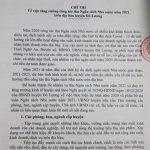 Chỉ thị về việc tăng cường công tác thu Ngân sách Nhà nước năm 2021 trên địa bàn huyện Đô Lương.