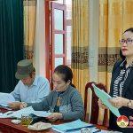 Thường trực huyện ủy Đô Lương Làm việc với hội LHPN về công tác chuẩn bị Đại hội