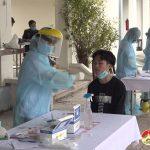 Đô Lương tổ chức xét nghiệm Sars cov – 2 cho 237 thanh niên nhập ngũ