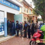 ATM ở Đô Lương: Quá tải ngày cận tết Tân Sửu 2021
