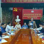 UBMTTQ huyện Đô Lương tổ chức hội nghị hiệp thương lần thứ nhất giới thiệu ứng cử HĐND huyện khóa XX, nhiệm kỳ 2021-2026.
