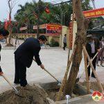 Đô Lương tổ chức  trồng cây  đầu xuân Tân Sửu năm 2021.