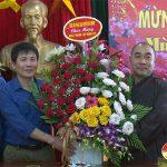 Hội phật giáo Đô Lương chúc mừng Huyện ủy, UBND huyện nhân dịp kỷ niệm ngày thành lập Đảng và tết Tân Sửu năm 2021.