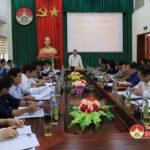 UBND huyện tổ chức hội nghị trực tuyến sơ kết nhiệm vụ quý 1 và triển khai nhiệm vụ quý 2 năm 2021.